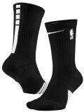 BK384 Nike NBA Elite Basketball Crew Socks ナイキ バスケットボール クルーソックス 黒白 Mサイズ【メール便対応】