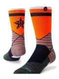 BK387 Stance MLB メジャーリーグ Houston Astros Crew Socks クルーソックス 紺オレンジ 【メール便対応】