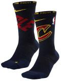 """SS093 【メール便対応】  Nike NBA """"クリーブランド・キャバリアーズ"""" Cavaliers Elite Crew Socks ナイキ バスケットボール クルーソックス"""