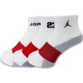 YK181 【メール便対応】 Kids'  Jordan ジョーダン ソックス 3足セット 白【19-21cm】