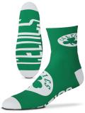 SS164 For Bare Feet NBA ボストン・セルティックス Boston Celtics クォーターソックス 靴下 緑白 【メール便対応】