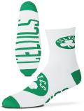 SS163 For Bare Feet NBA ボストン・セルティックス Boston Celtics クォーターソックス 靴下 白緑 【メール便対応】