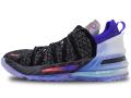 "KS785 キッズ/ジュニア Nike LeBron XVIII NRG (GS) ""The Chosen 2"" ナイキ レブロン・ジェームズ 18 バスケットシューズ バッシュ 黒ブライトクリムゾン【箱なし】"