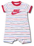 BY208 ベビー ナイキ ロンパース Nike JDI Infant Rompers ベビー服 赤ちゃん 白赤青 【メール便対応】
