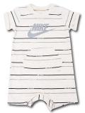 BY206 ベビー ナイキ ロンパース Nike JDI Infant Rompers ベビー服 赤ちゃん アイボリー灰 【メール便対応】