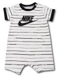BY207 ベビー ナイキ ロンパース Nike JDI Infant Rompers ベビー服 赤ちゃん ライトグレー黒 【メール便対応】