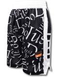 SK306 ジュニア Nike Just Do It. Shorts ナイキ ショーツ キッズ バスパン 黒白【ドライフィット】 【メール便対応】