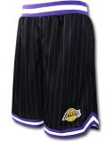 BN720 メンズ NBA ロサンゼルス・レイカーズ バスケットボールショーツ UNK Los Angeles Lakers Shorts アンク バスパン 黒紫白