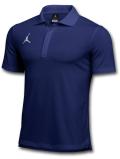 JP269 メンズ ジョーダン ポロシャツ Jordan Dri-Fit Polo 紺白【ドライフィット】