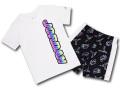 BT033 ベビー ジョーダン Tシャツ&ショーツ セットアップ Jordan Infant Set ベビー服 子供用 白黒 【メール便対応】