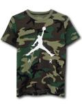 LL542 ジュニア ジョーダン Tシャツ Jordan Youth Camo T-Shirt キッズ トップス カモフラージュ白 【メール便対応】