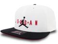 JC027 ジョーダン スナップバック キャップ Jordan Pro Sport DNA Snapback Cap 帽子 白黒赤