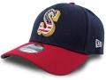 "FB468 ニューエラ MLB メジャーリーグ シアトル・マリナーズ ストレッチキャップ New Era MLB Seattle Mariners Cap ""USA"" ベースボール  帽子 紺赤"