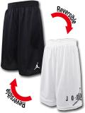 SK452 ジュニア ジョーダン リバーシブル メッシュショーツ Jordan Youth Reversible Shorts キッズ バスパン 黒白灰 【メール便対応】