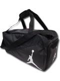 TA200 【海外取り寄せ】 Air Jordan エレファント柄 Duffel Bag ジョーダン ダッフルバッグ 黒灰