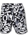 SJ915 メンズ ジョーダン ザイオン バスケットボール ショーツ Jordan Zion Dri-Fit Shorts バスパン 黒白【ドライフィット】