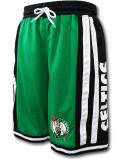 BN722 メンズ NBA ボストン・セルティックス バスケットボールショーツ UNK Boston Celtics Shorts アンク バスパン 緑黒白