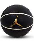 BL061 ジョーダン ミニバスケットボール Jordan Mini Basketball 3号球 黒メタリックゴールド