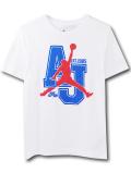 LL546 ジュニア ジョーダン Tシャツ Jordan Youth T-Shirt キッズ ユース トップス 白青インフラレッド 【メール便対応】