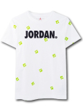 LL545 ジュニア ジョーダン Tシャツ Jordan Youth T-Shirt キッズ ユース トップス 白黒黄緑 【メール便対応】