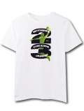 NK436 ジュニア ナイキ レブロン・ジェームズ Tシャツ Nike LeBron James T-Shirt キッズ ユース トップス 白黒ネオングリーン【ドライフィット】 【メール便対応】