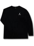 JT095 メンズ ジョーダン ロングスリーブTシャツ Jordan Jumpman Air Long Sleeve 長袖 黒白【ルーズフィット】 【メール便対応】