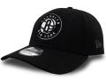 CN209 ニューエラ NBA ブルックリン・ネッツ アジャスタブルキャップ New Era Brooklyn Nets Adjustable Cap 帽子 黒白