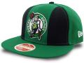 CN208 ニューエラ NBA ボストン・セルティックス スナップバックキャップ New Era Boston Celtics Snapback Cap 帽子 緑黒白
