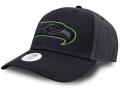FB472 NFL シアトル・シーホークス アジャスタブルキャップ Seattle Seahawks Adjustable Cap アメフト 帽子 黒アントラシート