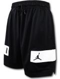 SJ918 メンズ ジョーダン バスケットボール ショーツ Jordan Dri-Fit Air Shorts バスパン 黒白