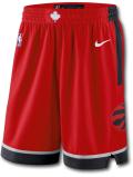BN725 メンズ ナイキ NBA トロント・ラプターズ スウィングマンショーツ Nike Toronto Raptors Swingman Shorts 赤黒【ドライフィット】