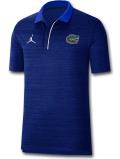 JP270 メンズ ジョーダン NCAA フロリダ大学 ゲイターズ カレッジポロシャツ Jordan Florida Gators Polo 青白