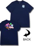 JT097 メンズ ジョーダン Tシャツ Jordan Sticker T-Shirt 紺マルチカラー 【メール便対応】