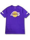 NB567 メンズ NBA ロサンゼルス・レイカーズ トレーニングシャツ UNK Los Angeles Lakers アンク 紫黄色 【メール便対応】