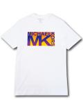 KO464 メンズ マイケルコース Tシャツ Michael Kors T-Shirt 白 【メール便対応】