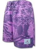 SJ923 メンズ ジョーダン プールサイドショーツ Jordan Flight Allover Print Poolside Shorts ハーフパンツ 紫