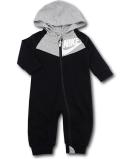 BY215 ベビー ナイキ フード付き カバーオール Nike Infant Coverall ベビー服 赤ちゃん 黒灰白 【メール便対応】
