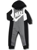 BY219 ベビー ナイキ フード付き カバーオール Nike Infant Coverall ベビー服 赤ちゃん 黒ダークグレー白 【メール便対応】