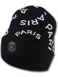 AJ111 ジョーダン パリ・サンジェルマン ニットキャップ Jordan × PSG Paris Saint-Germain Beanie 帽子 ビーニー 黒白ゴールド 【メール便対応】