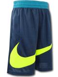 SK461 ジュニア ナイキ バスケットボールショーツ Nike Youth Shorts キッズ バスパン ダークティールネオングリーン【ドライフィット】 【メール便対応】