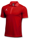 JP271 メンズ ジョーダン ポロシャツ Jordan Dri-Fit Polo 赤白【ドライフィット】