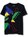 LL549 ジュニア ジョーダン Tシャツ Jordan Youth T-Shirt キッズ ユース トップス 黒マルチカラー 【メール便対応】