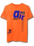 LL550 ジュニア ジョーダン Tシャツ Jordan Youth T-Shirt キッズ ユース トップス ネオンオレンジ青黒 【メール便対応】