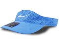 FB479 ナイキ サンバイザー Nike Aerobill Visor 帽子 キャップ 水色白【ドライフィット】