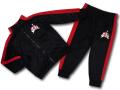 BT086 ベビー ジョーダン ジャケット&パンツ セットアップ Jordan Jumpman Classics Infant Set 子供服 上下セット 黒赤
