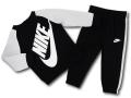 BY220 ベビー ナイキ トレーナー&パンツ スウェットセットアップ Nike Infant Set ベビー服 子供用 黒灰白 【メール便対応】