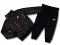 BP030 キッズ 子供用 ナイキ ジャケット&パンツ セットアップ  Nike Toddler Set 黒赤黄色
