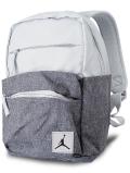 WA742 【SALE・わけあり】 ジョーダン ミニリュックサック Jordan Pivot Colorblocked Mini Backpack バックパック ピュアプラチナダークグレー