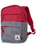 JB145 ジョーダン ミニリュックサック Jordan Pivot Colorblocked Mini Backpack バックパック 赤ダークグレー