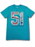 KO466 メンズ MLB シアトル・マリナーズ イチロー Tシャツ Majestic Seattle Mariners Ichiro マジェスティック メジャーリーグ ティールメタリックシルバー 【メール便対応】